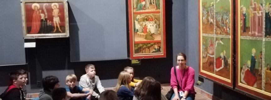 Lekcja muzealna kl IV i V - Muzeum Narodowe 2019